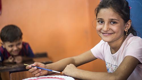 Eine Chance für syrische Kinder