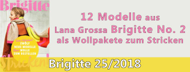 Brigitte 25 Wollpakete