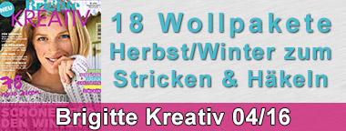 Brigitte Kreativ 04/2016 Wollpakete