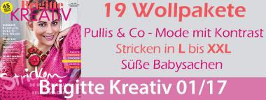 Wollpakete Brigittte Kreativ 1/17