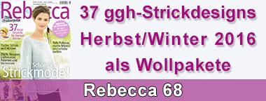 Rebecca 68 Garnpakete
