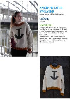 "Strickanleitung ""Anchor-Love-Sweater"""