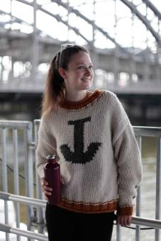 "Pullover ""ANCHOR-LOVE-SWEATER"""
