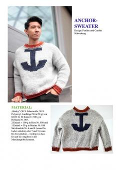 "Strickanleitung Herrenpullover ""Anchor-Sweater"""