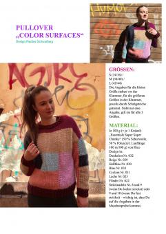 """Anleitung Pullover """"Color Surfaces"""""""