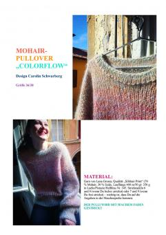 "Anleitung Pullover ""Colorflow"""