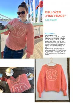 "Anleitung Pullover ""Pink-Peace"""