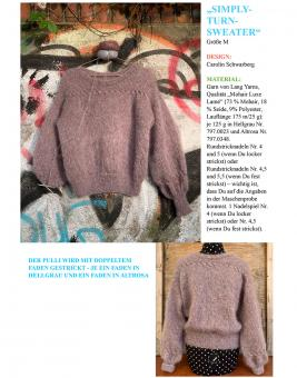 "Anleitung ""Simply-Turn-Sweater"""
