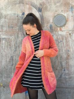 "Mohair-Coat ""Colorflow"""