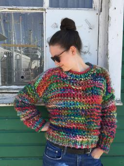 "Pullover ""Colorflash"""