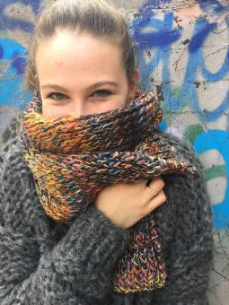 "Scarf ""Colorflash"""