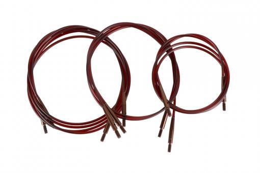 Austauschbare Seile in braun