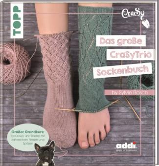 Das große CraSyTrio Sockenbuch by Silvie Rasch