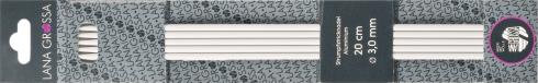 double point Needles Aluminium 15cm