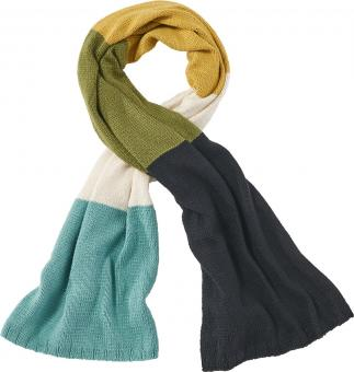 Scarf with Block-Stripes