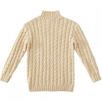 Pullover with Cable-Stitches