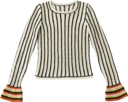 Colored-Cuff-Sweater