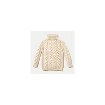 Her Cable-Stitch Pullover