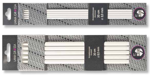 Strickspiel Kunststoff 20cm