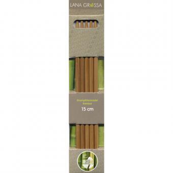 Strickspiel Bambus 15cm