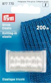 Knitting-in elastic