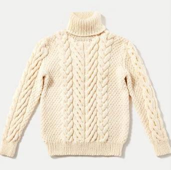 His Cable-Stitch Pullover