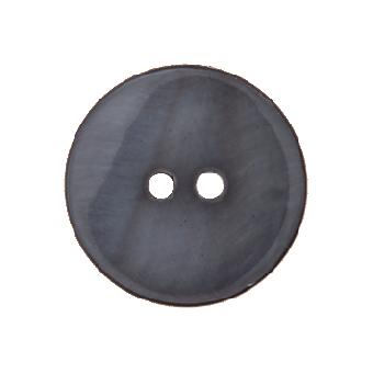 Perlmuttknopf 12mm grau