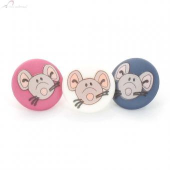 "Children's Button ""Mouse"" 12mm"