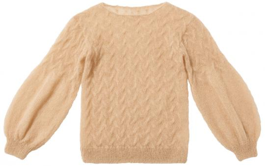Plait Pattern Pullover