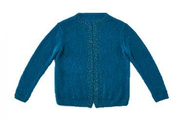 Brigitte kreativ jacke in blau ggh strickmodell rikes - Kreativ brigitte de ...