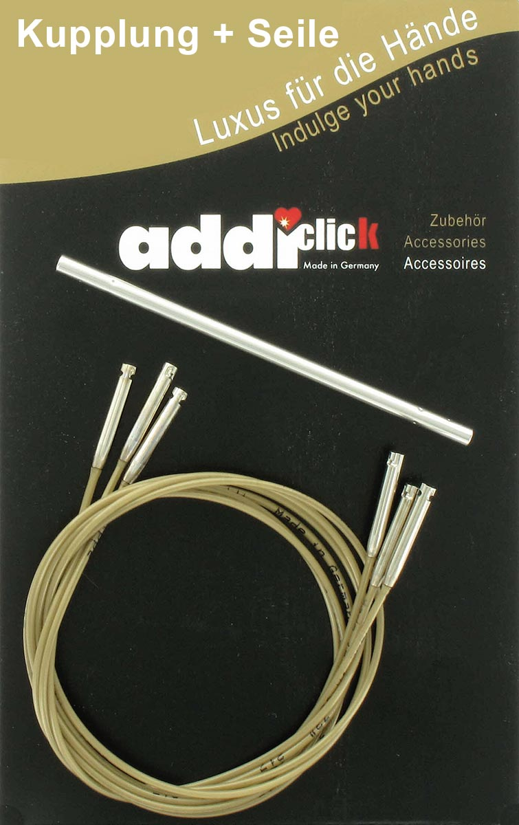 Set of 3 Addi Click Bamboo Cords and Connector