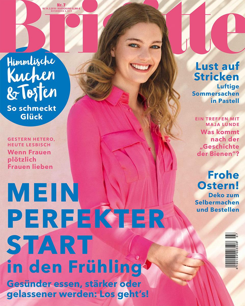 Knitting Manuals Brigitte 07 2018