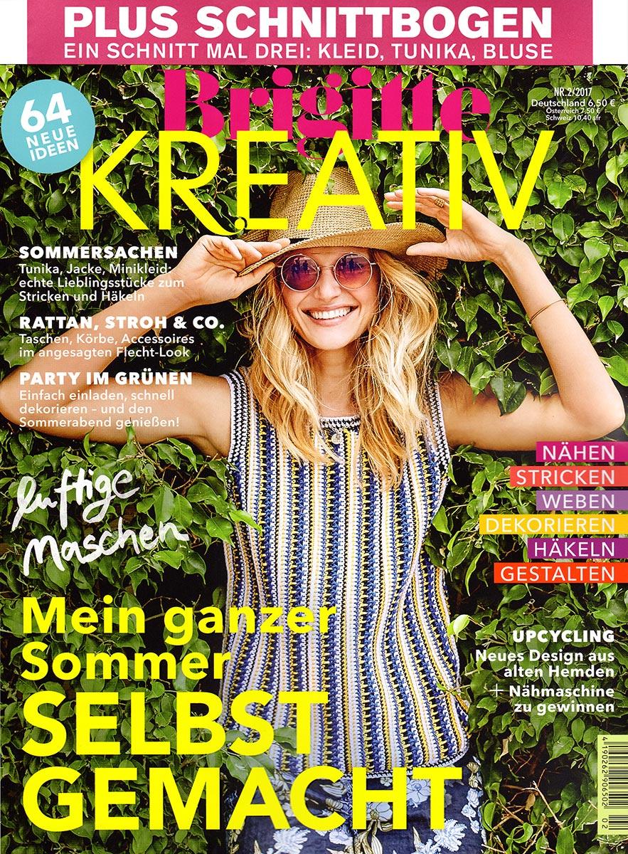Brigitte Kreativ Nr 2 2017 64 Neue Ideen F R Den Sommer