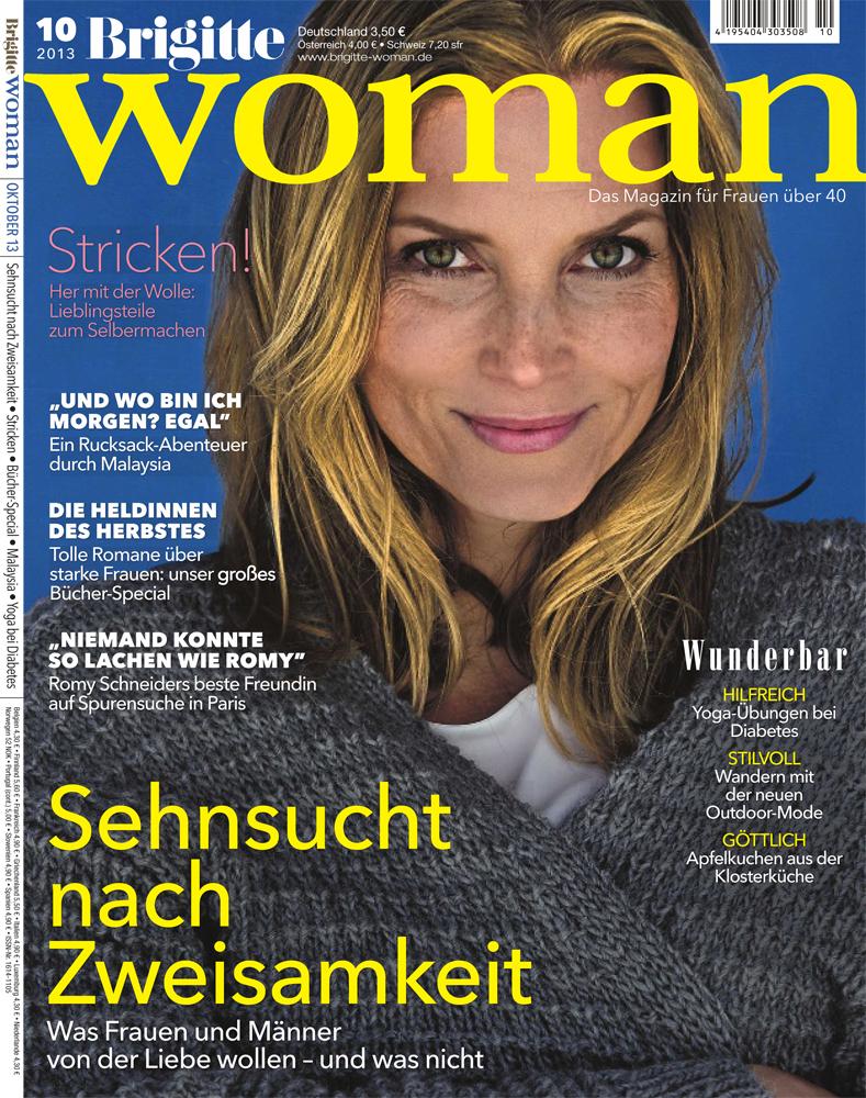 Brigitte woman strickanleitungen brigitte woman 10 2013 for Brigitte versand deutschland