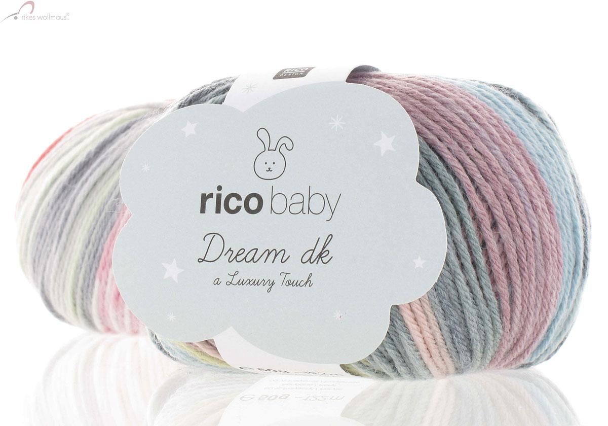 Rico Baby Dream DK ****UNI**** 50g ***ALL COLOURS***