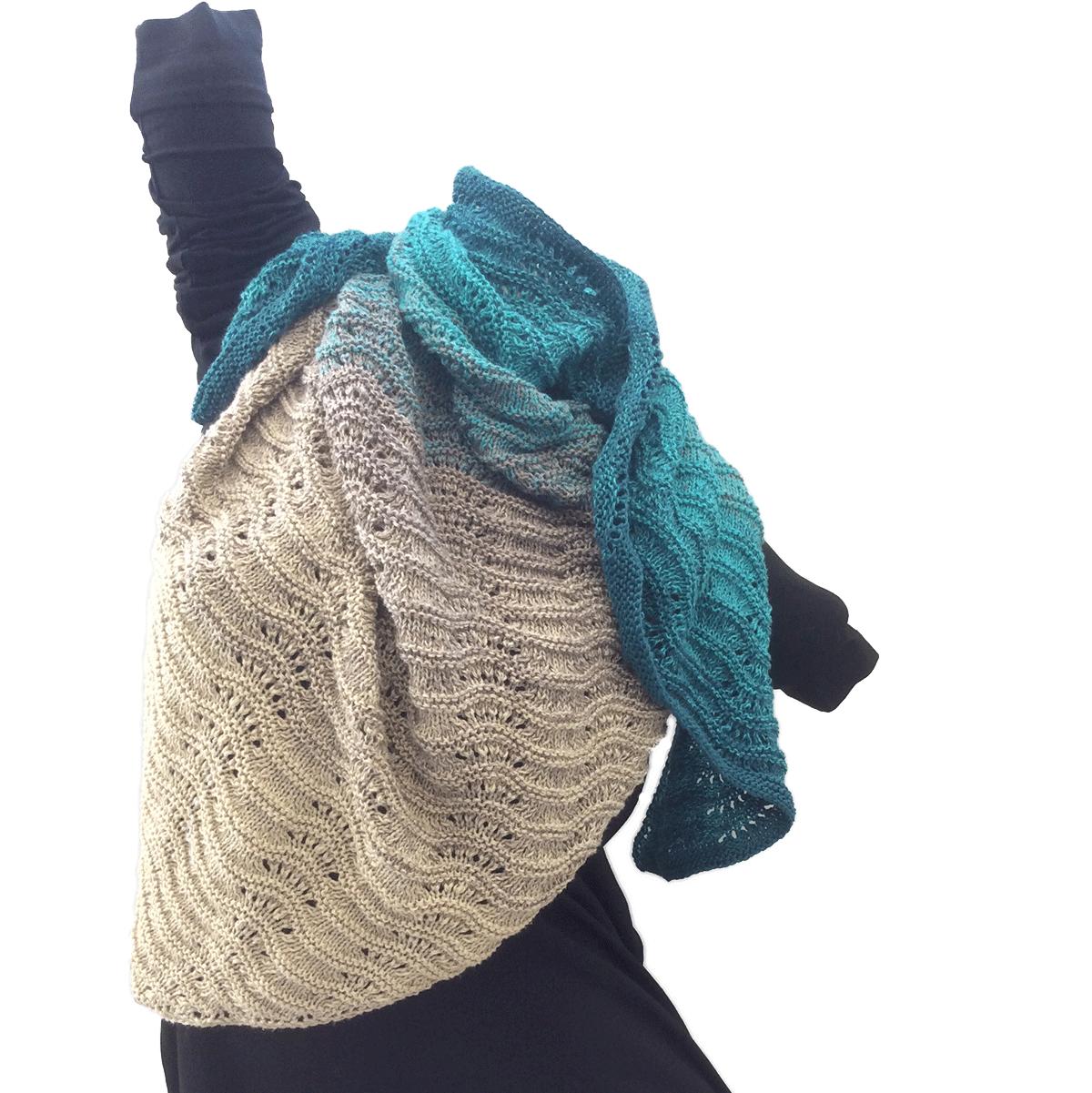 Woolly Hugs Bobbel Cotton Farbverlaufsgarn Von Veronika Hug