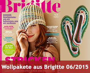 Wollpakete zur Brigitte 06/2015