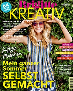 Brigitte Kreativ 2/2017 - die Wollpakete zum Heft