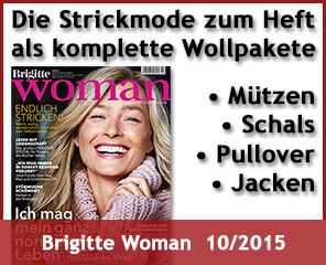 Wollpakete zur Brigitte Woman 10/2015